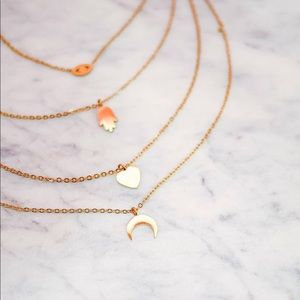 Vici gold layered necklace